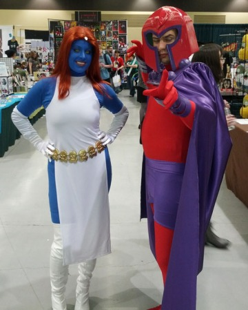 Magneto and Mystique, from the Brotherhood of Evil Mutants Whose Codenames Start With 'M'